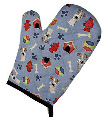 Dog House Collection Wire Haired Fox Terrier Oven Mitt