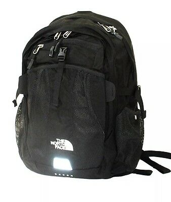 The North Face Black Recon Backpack Book Bag New Laptop