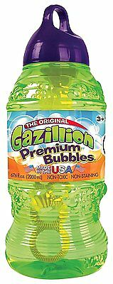 Gazillion Bubbles 2 Litre Bottle Solution, UK SELLER, FREE EXPRESS SHIPPING UK