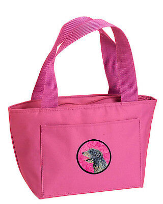 Carolines Treasures  SS4782-PK-8808 Pink Irish Wolfhound  Lunch Bag or Doggie Ba