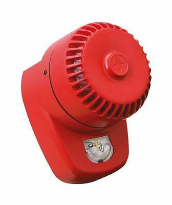 FULLEON COOPER Fire Smoke Alarm System Red LED Beacon Sounder ROLPX/R1/LX/W/WF