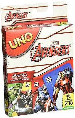 Marvel Avengers UNO Card Game, UK SELLER, BRAND NEW, FREE EXPRESS SHIPPING