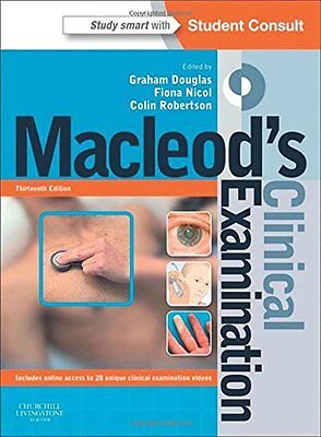 MacLeod's Clinical Examination by Professor Colin Robertson, Dr. Fiona Nicol,...