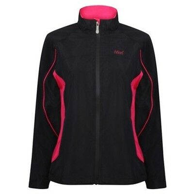 Island Green Ladies Softshell Jacket - Black/Pink