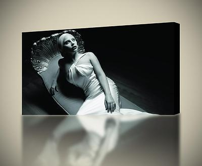 Lady Gaga Music CANVAS PRINT Wall Decor Giclee Art Poster CA510