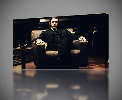 The Godfather Al Pacino Movie CANVAS PRINT Wall Decor Giclee Art Poster CA503