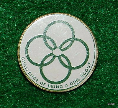 Girl Scout Pin - Cadette Challange Pin -