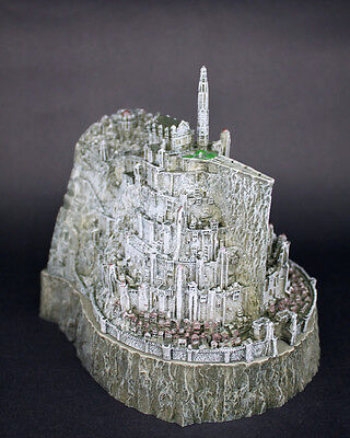 NEW-Lord-of-The-Rings-Minas-Tirith-Capital-of-Gondor-Ashtray-Model-Statue-Figure