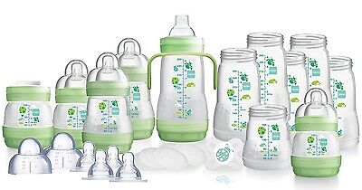 MAM Large Bottle Starter Set Bottle Teats Starter Soother Anti-Colic Bottles