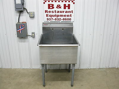 """Eagle 27"""" Stainless Steel 1 One Bowl Utility Sink w/ 24"""" Bowl"""