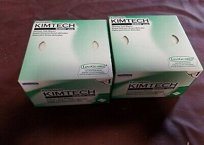 KIMTECH KIMWIPES Delicate Task Wipers 4.4 x 8.4 (11x21cm) - Lot of 2