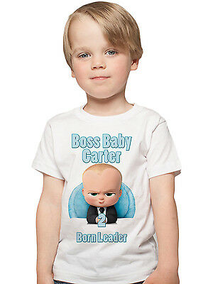 fd5be0936 Boss Baby Birthday Shirt Custom Name and Age Personalized Boss Baby shirt