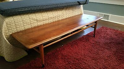 MCM Danish Style 50-60s LANE Dovetailed Coffee Table w/Cusion