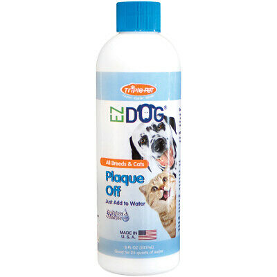EZ Dog Pet Plaque Off 8oz-