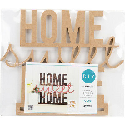 """Kaisercraft Beyond The Page MDF Home Sweet Home Standing Words-16.25""""X12.25""""X1.5"""