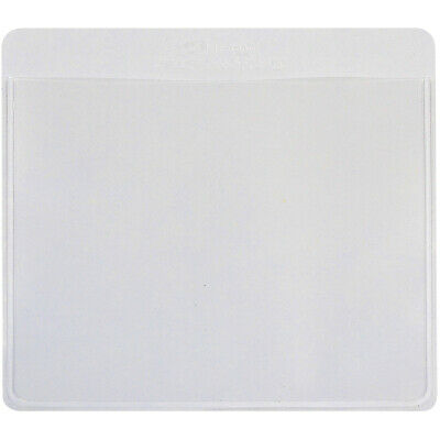 """C-Line Self-Adhesive Labeling Pockets 3.75""""X3"""" 25/Pkg-Clear/White"""
