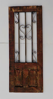 Decorative Wooden Door Window Panel 39 5/8""