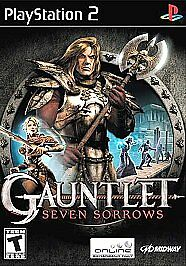 Gauntlet: Seven Sorrows (Sony PlayStation 2, 2005) GAME AND BOX WORKS WELL NESHQ