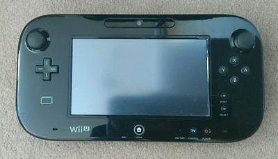 Nintendo Wii U Gamepad black Excellent condition