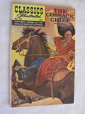 Classics Illustrated No. 164, HRN 164, Silver Age, VG. GREAT PRICE.