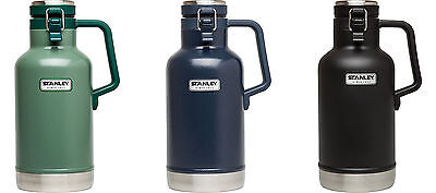 Stanley Classic Vacuum Insulated Growler, 2 Sizes, 3 Colors