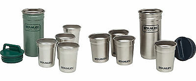STANLEY Packable Stainless Steel Shot Glass Set, 2 Colors