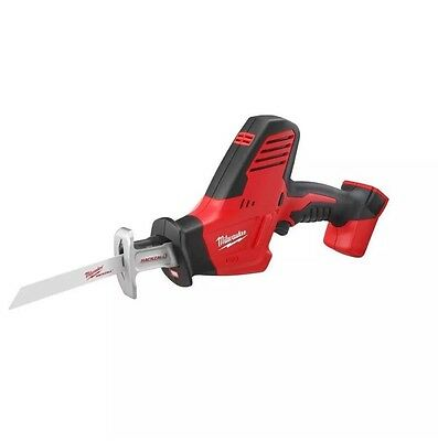 New Milwaukee M18 18 Volt Lithium Ion Hackzall Reciprocating Saw Model 2625-20