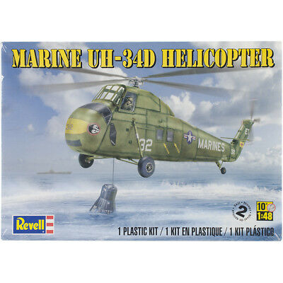 Revell 85-5323 Plastic Model Kit-Marine UH-34 D Helicopter 1:48