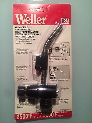 Weller Torch Self-Igniting High Performance Brazing Torch New