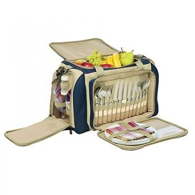 New - Primus Deluxe Picnic Set and cooler bag 4 Person