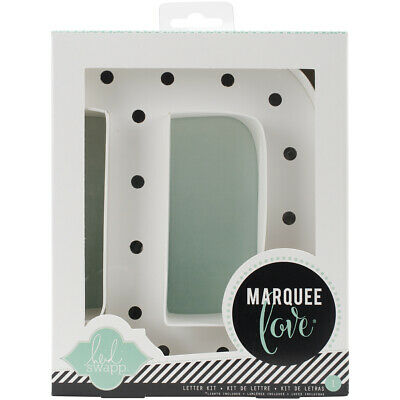 """American Crafts Heidi Swapp Marquee Love Letters, Numbers & Shapes 8.5""""-D"""
