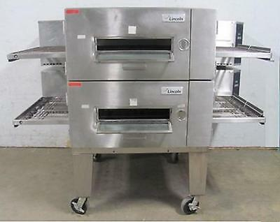 Pizza Ovens - Lincoln 1600 Natural Gas Doublestack - Call for Extended Warranty
