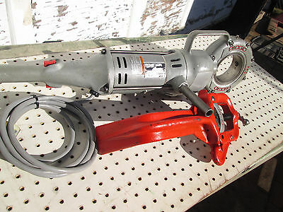 RIDGID 700 PIPE THREADER  EXC. TOOL  with 775 support arm