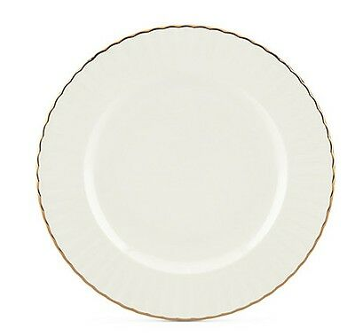 ae90d73a47 MARCHESA BY LENOX Dinnerware Ironstone Shades of White Accent Plate ...