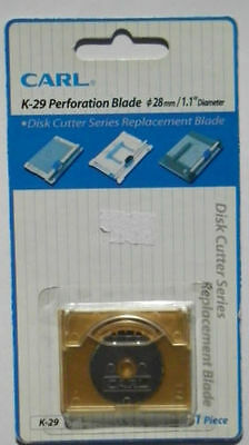 K29 Carl Perforating Blade For use with Trimmers Cutters 28mm