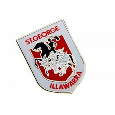 St. George Illawarra Dragons Official NRL Logo Lapel Tie Pin FREE POST