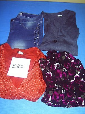 Lot Of Womans Clothes Size Medium Lot Of 8  #s20