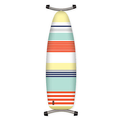 Lincoln Stripe Ironing Board Cover Padded Thick Felt Cotton Cover 144x52cm