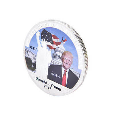 Nice American 45th President Donald Trump Silver Coin Collection CA