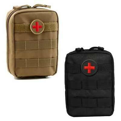 Sport Camping Hiking Travel Emergency Medical First Aid Kit Bag Treatment Pack