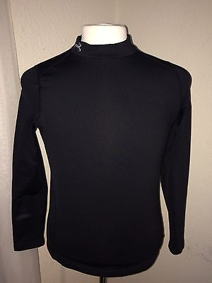Black Under Armour Youth XL Compression long sleeve