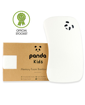 Panda Luxury Kids Memory Foam Bamboo Pillow (Toddler) - Official Stockist