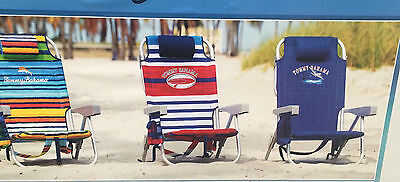 Tommy Bahama Backpack Folding Beach Chair in 3 Colours
