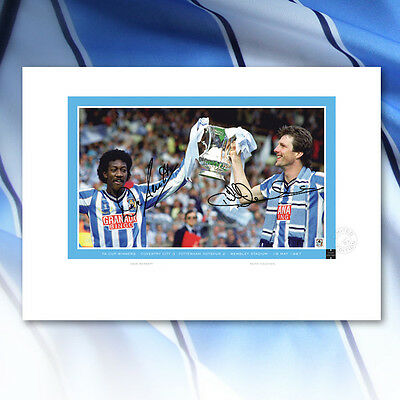Coventry City 1987 Fa Cup-Winners Signed Limited Edition Print