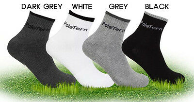 MINE Mens Only Golf Crew Sport Socks , Choose 4 Color , Dri Fit No-Show Sock