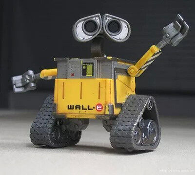 1pcs Wall E Wall-E Action Figure Figurines Toy Doll 3D Model Display Collection