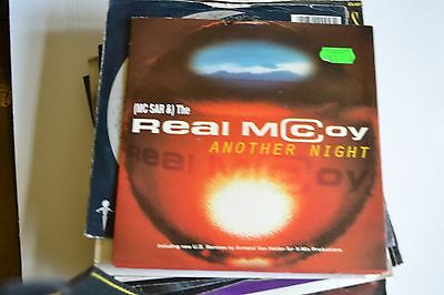 """MC SAR  AND THE REAL McCOY     ANOTHER NIGHT      7"""" VINYL    FREE POSTAGE"""