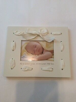 Hallmark 4x6 Picture Frame New All Of Gods Grace Baby Shower Gift Nursery