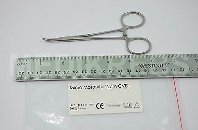 """Mosquito 4.5""""curved 12cm German Stainless Steel,Surgical Instruments"""