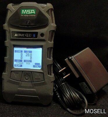 MSA Altair 5x Multigas Detector Bluetooth LEL CO H2S O2 Calibrated Warranty